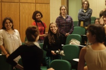 Dinâmica de abertura da Semana Acadêmica da Biologia 2015