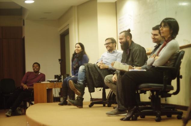Participantes da Mesa Redonda